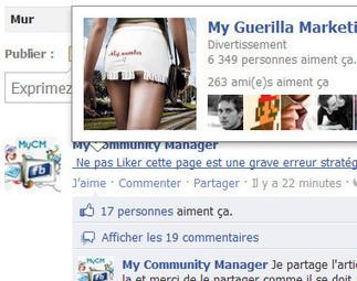 Astuce : Tagguez une page Facebook avec le message de votre choix   My Community Manager   Facebook pour les entreprises   Scoop.it