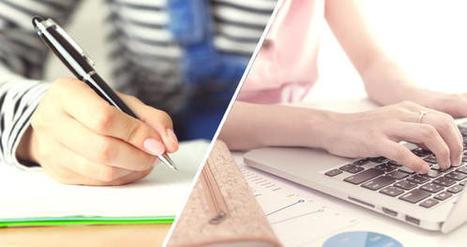 Le stylo plus efficace que l'ordinateur pour prendre des notes | L'Atelier : Accelerating Business | Education, native digitals & Liberté | Scoop.it