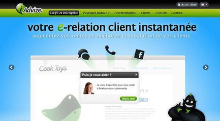 Gérer sa clientèle en instantané via internet avec iAdvize | Web Intantané | Scoop.it