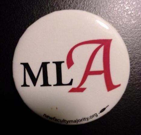 Big red A goes to the MLA | A is for Adjunct | Scoop.it