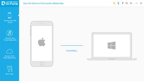 Dr.Fone, recupero dati da iPhone e iPad inutilizzabili... fatto semplice | recupero dati | Scoop.it