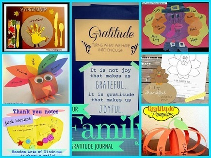 28 Activities to Invite Young Kids to Actively Engage in Gratitude and Thankfulness! - The Preschool Toolbox Blog | Grow with Kids | Scoop.it