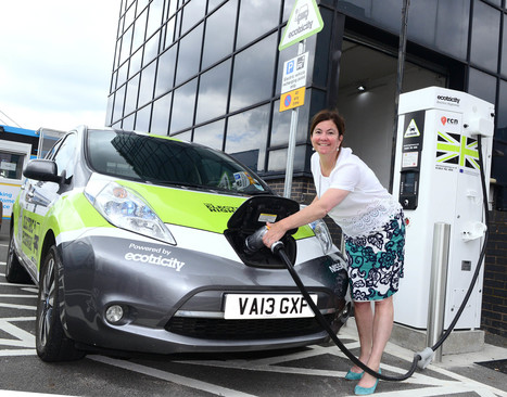 Electric Cars Charge into Birmingham Airport | EcoFriendlyFlying | Scoop.it