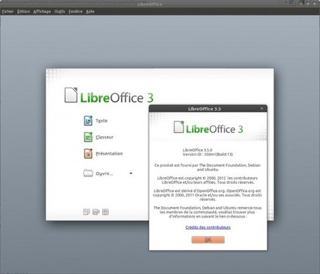 LibreOffice 3.5 disponible via le dépôt PPA | On dit quoi ? | Scoop.it