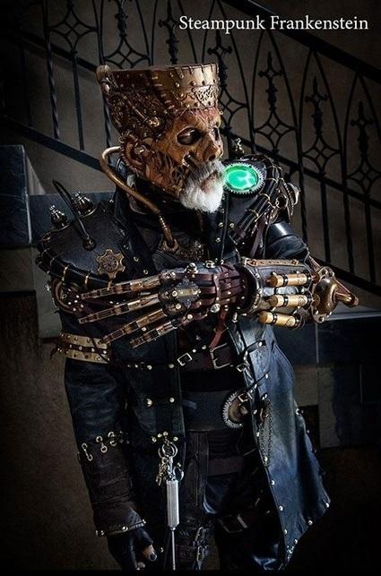 Steampunk Cyborg Frankenstein   Just Put Some Gears on It   Scoop.it