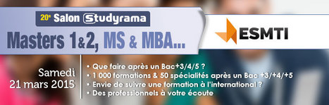 Que faire après un Bac+3/4/5 ?  [ESMTI] | Orientation post-bac CDIISP | Scoop.it