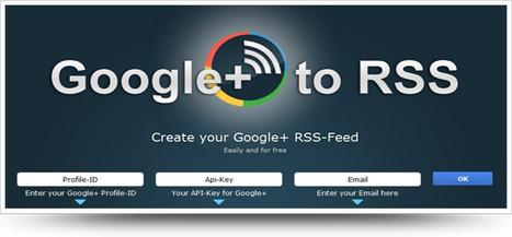 Générer le flux RSS de vos publications Google+   François MAGNAN  Formateur Consultant   Scoop.it