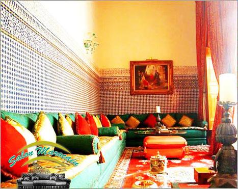 Décoration Salon Marocain Moderne 2015: Salon marocain artisanat sud | Salon-marocain | Scoop.it