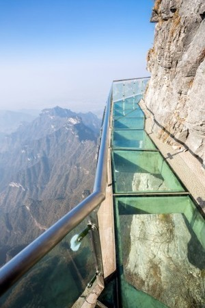 World's longest glass skywalk opens in China | Real Estate Plus+ Daily News | Scoop.it