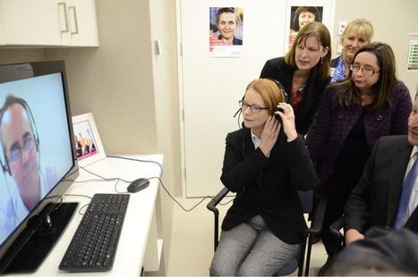 Twitter / JuliaGillard: A live Telehealth consultation ... | Australian e-health | Scoop.it