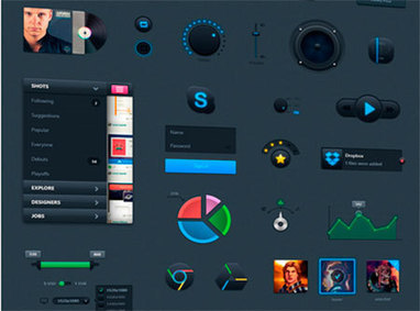 Massive RoundUp of Fresh and Free GUI Sets from 2013   Tools, Plugins and Freebie for Web Design and Development   Scoop.it