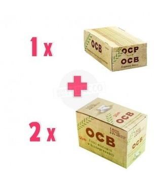 Cartine Ocb Bio Corte + Filtri Ocb Bio - NonSoloTabacco.com | Promozioni Fumatori | Scoop.it
