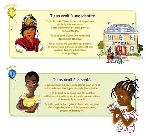 TICs en FLE: Droits de l'enfant : regardez , lisez , écoutez , jouez , chantez | FLE enfants | Scoop.it