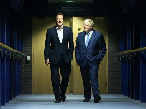 David Cameron says the Brexit rift has strained his friendship with Boris Johnson | Business Video Directory | Scoop.it