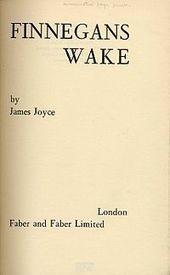 Finnegan's Wake | Books That Have No Endings | Scoop.it