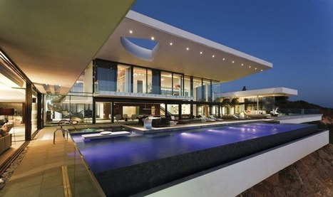 Extraordinaire villa contemporaine face à l'océan atlantique à Dakar, Sénégal   Construire Tendance   Scoop.it