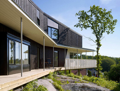 Eight Green Roofs in one Project in Sweden: Arlevagen | sustainable architecture | Scoop.it