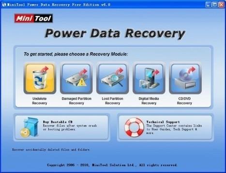Recupera esos archivos borrados accidentalmente en discos duros con MiniTool Power Data Recovery   Las TIC y la Educación   Scoop.it
