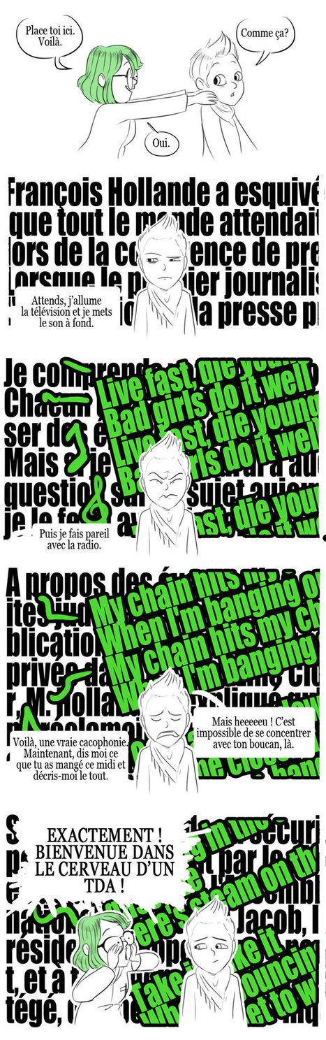En pointillés: Un handicap invisible. | Pour l'enseignement du français | Scoop.it