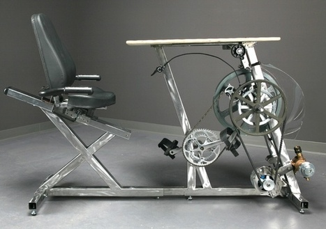 The Electricity-Generating Bicycle Desk That Would Power the World | Cyclopedia. Curated Content for Curious Cyclists | Scoop.it