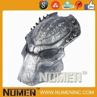 """Full Face Metal Mesh """"Predator"""" Costume Paintball Mask 