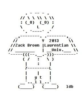 Zack Graduates High School and Starts University - ASCII Artist | ASCII Art | Scoop.it