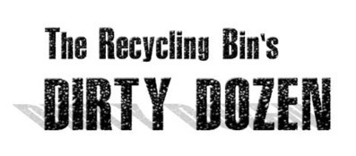 Dirty dozen recycling contaminats   The environmental problems   Scoop.it