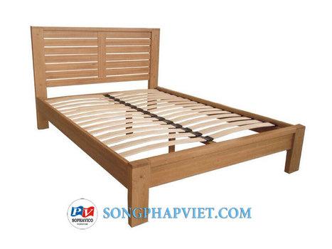 Giường gỗ sồi 1.6m SPV205T | giuong soi | Đồ Gỗ Song Pháp Việt | Hello coopit | Scoop.it