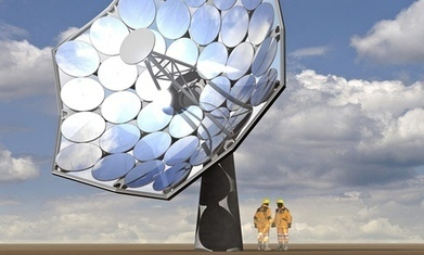 Solar Energy: A Sunflower Solution to Electricity Shortage | Biomimicry | Scoop.it