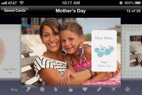 Apple's Cards app gets Mother's Day add-ons | iPad and iPhone Gifts, Gift Guides and Ideas | Scoop.it