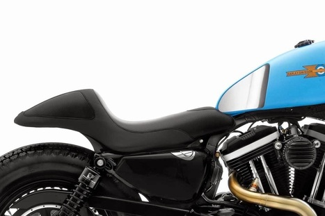 Harley-Davidson Iron 883 cafe racer - Grease n Gasoline   Smotra-moto.ru   Scoop.it