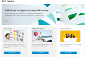 "SAP renames Visual Intelligence ""Lumira"" and sticks it in the cloud 