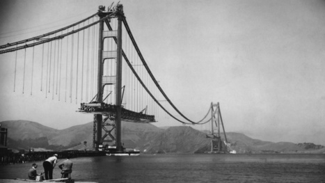 Photos of Famous Landmarks While They Were Still Under Construction | on art and design | Scoop.it