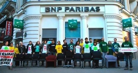 Les Faucheurs de chaises reçus par la direction de la BNP ce lundi 23 novembre ! - Action non-violente COP21 | Sortir de l'économie libérale : l'économie sociale et solidaire | Scoop.it