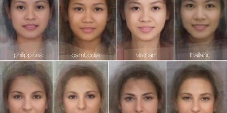 Average Woman's Face Around The World | Archivance - Miscellanées | Scoop.it