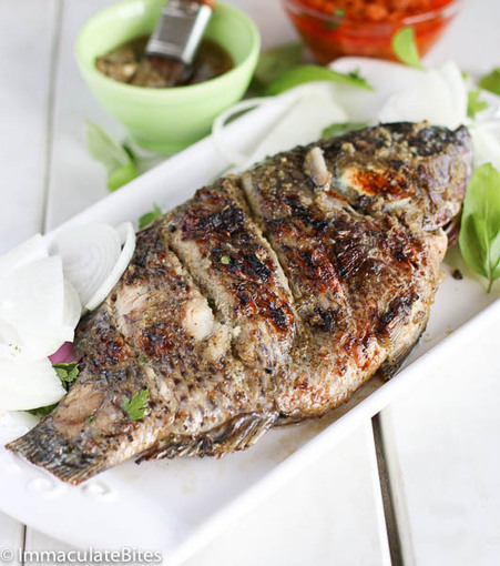 #HealthyRecipe : Grill Tilapia(African Style) | The Man With The Golden Tongs Goes All Out On Health | Scoop.it