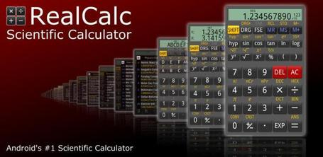 RealCalc Scientific Calculator - Android Market | Android Apps | Scoop.it