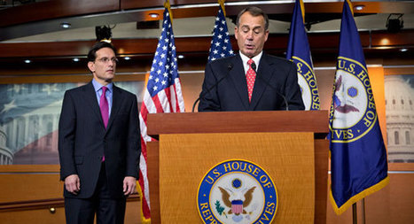 Why Boehner, Cantor parted ways on Sandy, cliff | Coffee Party News | Scoop.it
