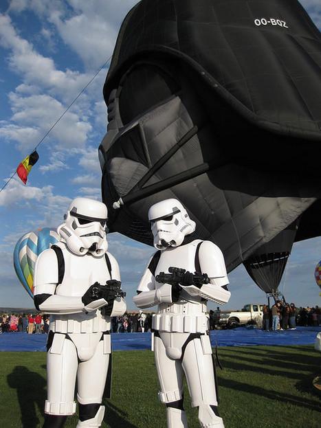 Darth Vader Hot Air Balloon | starwars | Scoop.it