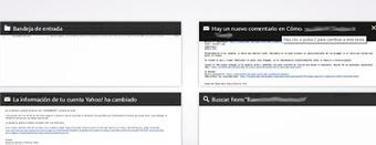 Utilizar pestañas y vista previa en Yahoo | Iniciar sesion correo ... | Facebook Aplicaciones | Scoop.it