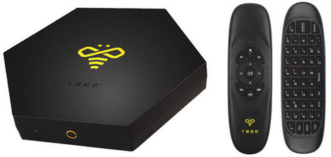 Tbee Android TV Box Supports Voice Command and Gesture Control | Embedded Systems News | Scoop.it