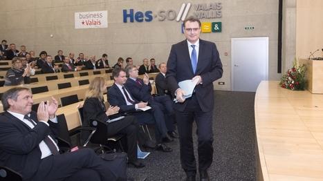 Le directeur de la BNS Thomas Jordan est venu s'expliquer en Valais | HES-SO Valais-Wallis | Scoop.it