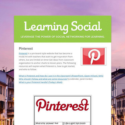 Learning Social | Learning Targets | Scoop.it