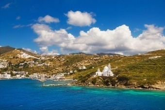 The Big Blue of #Ios beaches, #Cyclades #Aegean archipelago, #Greece | travelling 2 Greece | Scoop.it