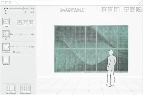 ImageWall - Perforated Metal Mosaic Designs - ShopFloor App by Zahner. | Architecture, design & algorithms | Scoop.it