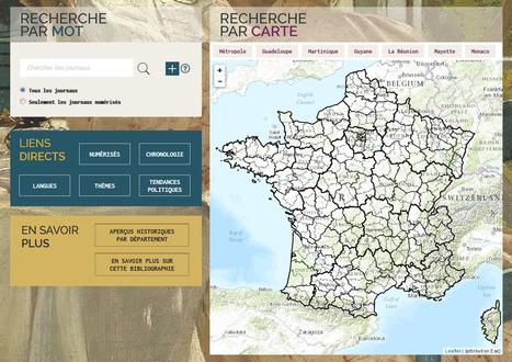 Portail de la Presse locale ancienne - BnF | Nos Racines | Scoop.it