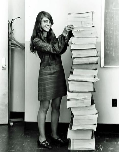 Meet Margaret Hamilton, the badass '60s programmer who saved the moon landing | Communication design | Scoop.it