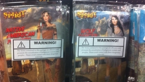 Activists place warning labels on Indigenous Halloween costumes   Family-Centred Care Practice   Scoop.it