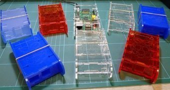 Laser Cut Acrylic case for the Raspberry Pi | Raspberry Pi | Scoop.it