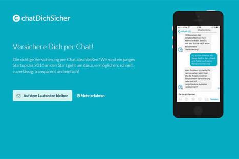 ChatDichSicher bietet Versicherungen via Facebook - deutsche-startups.de - News zu Startups, Venture Capital und digitalen Jobs | Digitale Business Transformation | Scoop.it